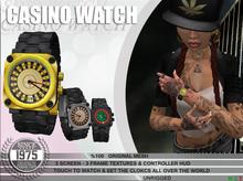 [Since 1975] - Casino Wrist  Watch (Unisex)