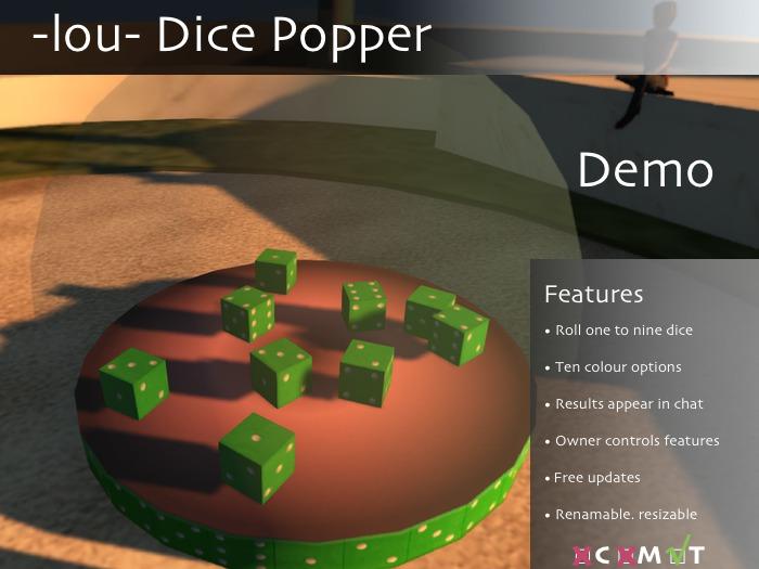 -lou- Dice Popper 1.1. demo