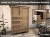 [satus Inc] Classic European Bedroom Armoire