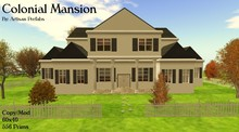 Colonial Mansion Prefab House Home by Artisan Prefabs