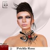 Baboom-prickly Rose-necklace-black