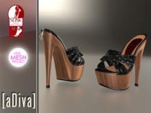 aDiva Susan Cross Wood Platform Slink Mid & TMP High Feet Addon