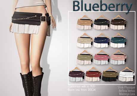 Blueberry Gabi - Maitreya / Belleza / Slink - Fat Pack