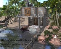 Michael's Modern Boathouse-Cabin III(40LI, 12x17)