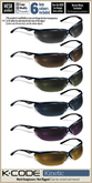 K-CODE KINETIC 4 - Mesh Sunglasses