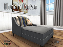 GW Modern Chaise Couch Chair (PG)