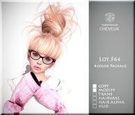 .:CHEVEUX:.F064 Hair Blacks
