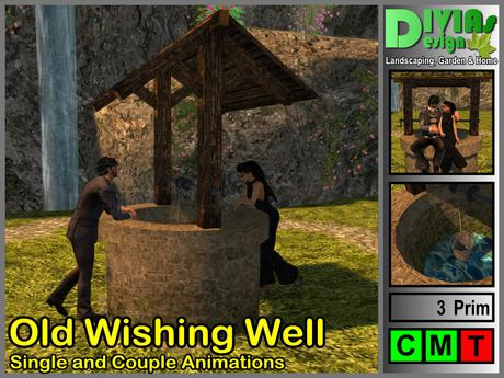 Old Wishing Well - Single And Couple Animations