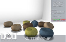 """""""Knitted Pouf"""" C/M - 1 L Gift!"""