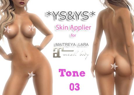*YS&YS* Maitreya Appliers Tone 03 + BOM