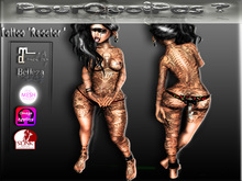 """PourQuoiPas Tattoo """"Reactor """" D/F"""
