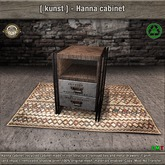[ kunst ] - Hanna cabinet