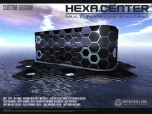 * 50 % Off * HEXA.CENTER Multi Purpose Building (MESH+MATERIALS) [Neurolab Inc.] Cyber Sci-fi
