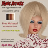 Mars Attacks - Essential Colors - Spot On Hair