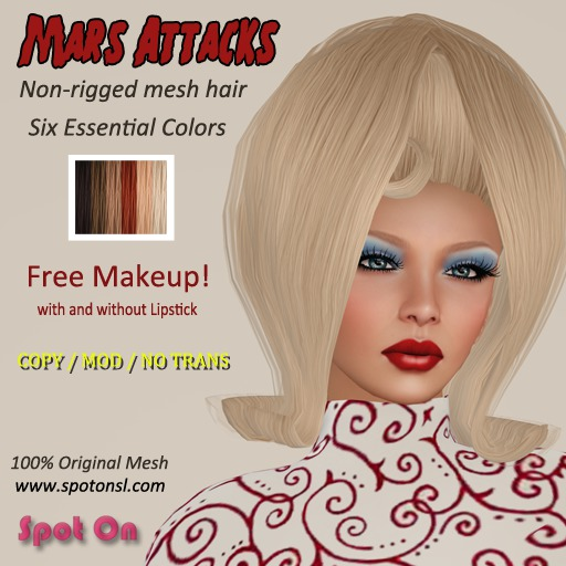 Spot On Hair - Mars Attacks - Essential Colors - DEMO