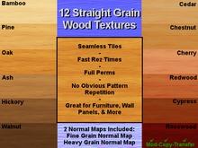 Wood Straight Grain Wood Textures FULL PERM