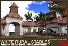 White rural stables