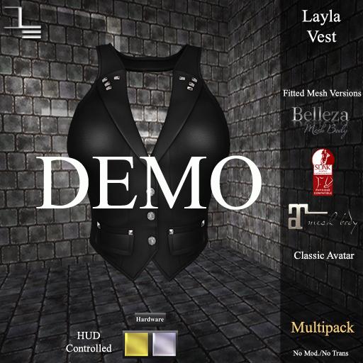 DE Designs - Layla Vest - DEMO