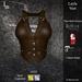 DE Designs - Layla Vest - Buck Leather