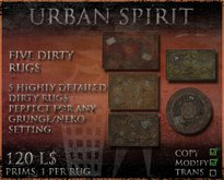 Five Dirty Rugs