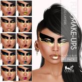 Oceane - Black & Gold Full Make-up Fat Pack (10x)