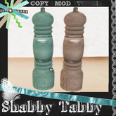 *Shabby* Coastal Salt & Pepper