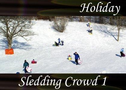 Atmo-Holiday - Sledding Crowd 1 1:10