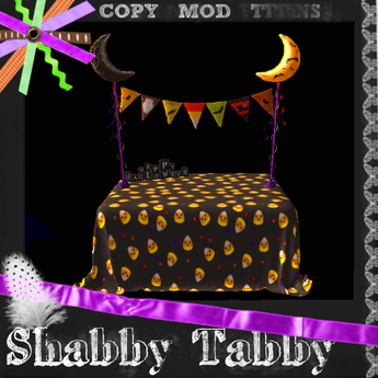*Shabby* Halloween Buffet Table