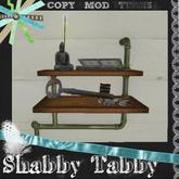 *Shabby* Industrial Shelving