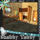 *Shabby* Modern Rustic Bathroom