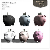 Special offer Marketplace !! Follow US !! My piggy bank 6colors / 2 textures COPY version box
