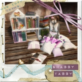 *Shabby* Story Time Bookshelf