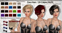 :: Miss Canning :: [ Zara Hair ] 20 Colors Pack+ Bow Accessorie