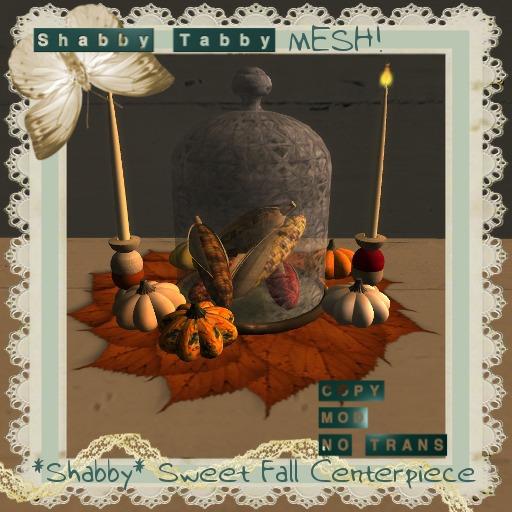*Shabby* Sweet Fall Centerpiece