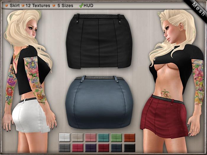 DN Mesh - Lulla Skirt w HUD