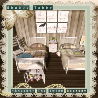 *Shabby* The Twins Bedroom