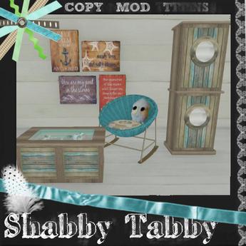 *Shabby* Coastal Chic Set