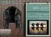 Addams - Biker Jacket - Leather Black
