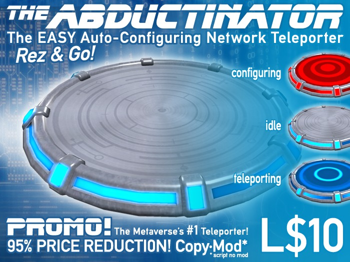 Auto-Configuring Network Teleporter