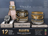 **RE** Raven Watch & Bracelet FatPack * MESH * Unisex * (*Raven Collection*)
