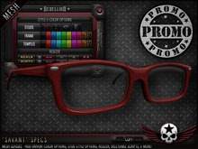 "= REBELLION = ""SAVANT"" SPECS [PROMO]"