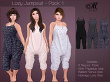 *MUKA* Lazy Jumpsuit - Pack 1 (Maitreya/Belleza/Slink)