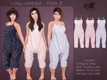 *MUKA* Lazy Jumpsuit - Pack 2 (Maitreya/Belleza/Slink)
