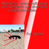 Tutorial Italiani - STANDINGPOSE con SHOW(HIDE multipose