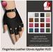 Izzie's - Fingerless Leather Gloves Applier HUD