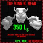 :Beast Creations: - King K head