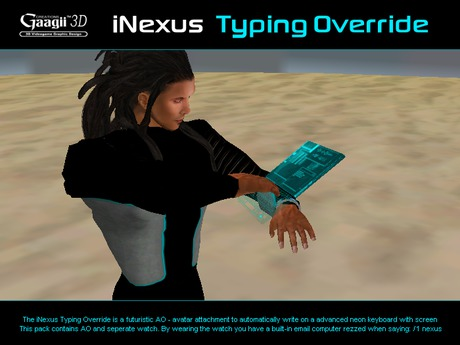 Gaagii - iNexus - Typing Override - Male body