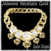 Jasmine Necklace Gold