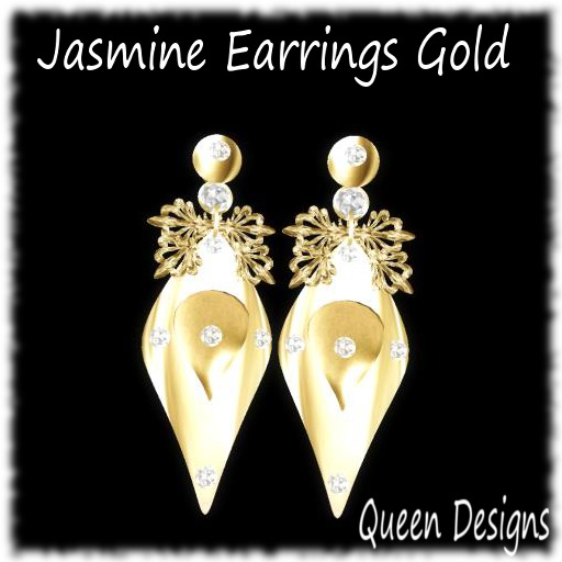 Jasmine Earrings Gold