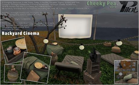 :CP: & PILOT - Backyard Cinema SET (PG)